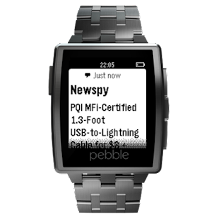 Newspy for Pebble- screenshot thumbnail