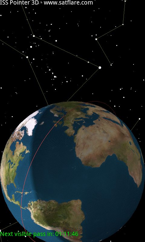 ISS Pointer 3D- screenshot
