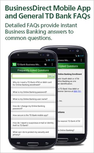 Td Bank Businessdirect Android Apps On Google Play