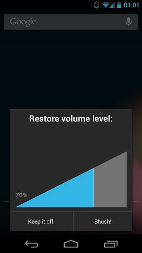 Shush Ringer Restorer screenshot 3