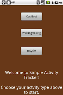 Simple GPS Activity Tracker - screenshot thumbnail
