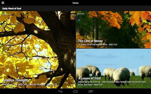 Daily Word of God - Lite 4.54.0 screenshots 9