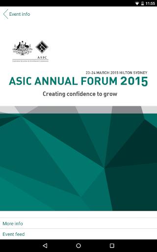 ASIC Annual Forum 2015