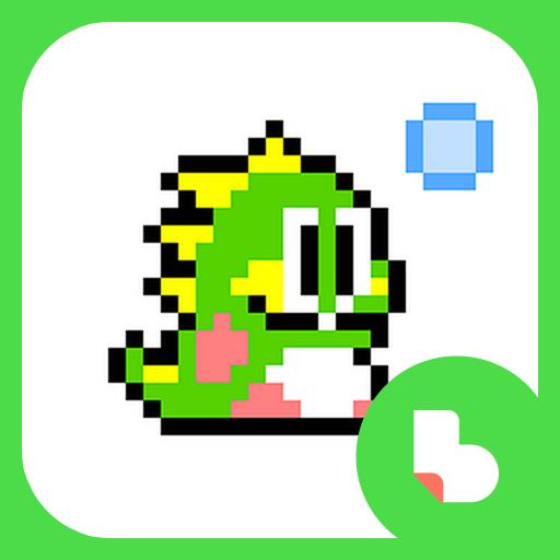 추억의 버블 게임 버즈런처 테마 (홈팩)