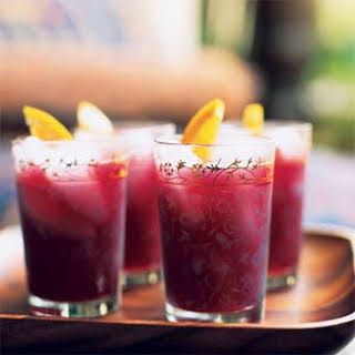 Pomegranate-Orange Cooler.