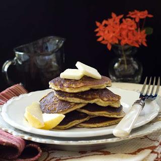 Gluten Free Almond Pear Cardamom Pancakes