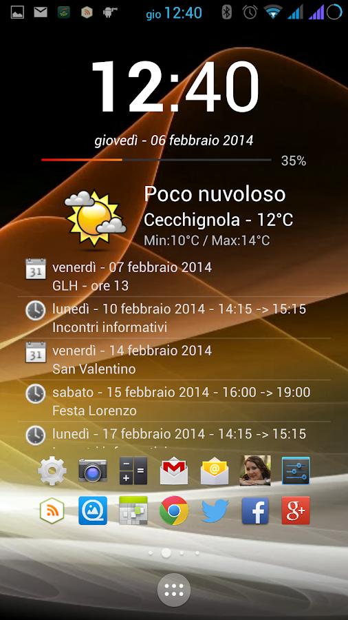event flow calendar widget how to find app