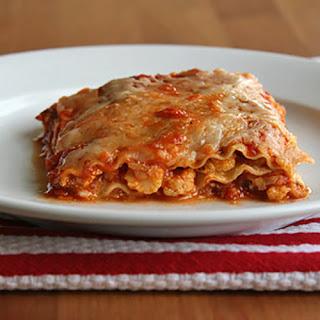 Spicy Cauliflower Lasagna.
