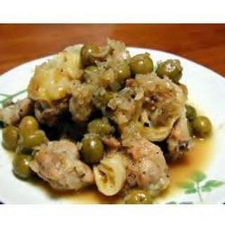 Easy Olive Martini Chicken