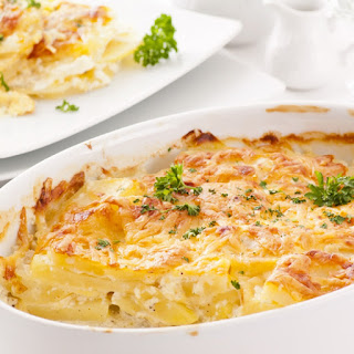 Rich Creamy Potato Gratin
