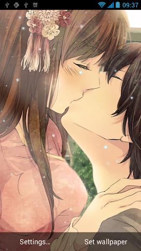 親吻動態壁紙