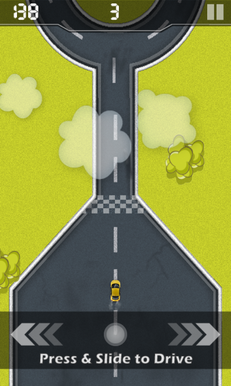 Driving in Line - screenshot