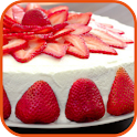 Strawberry Cake recipes food icon