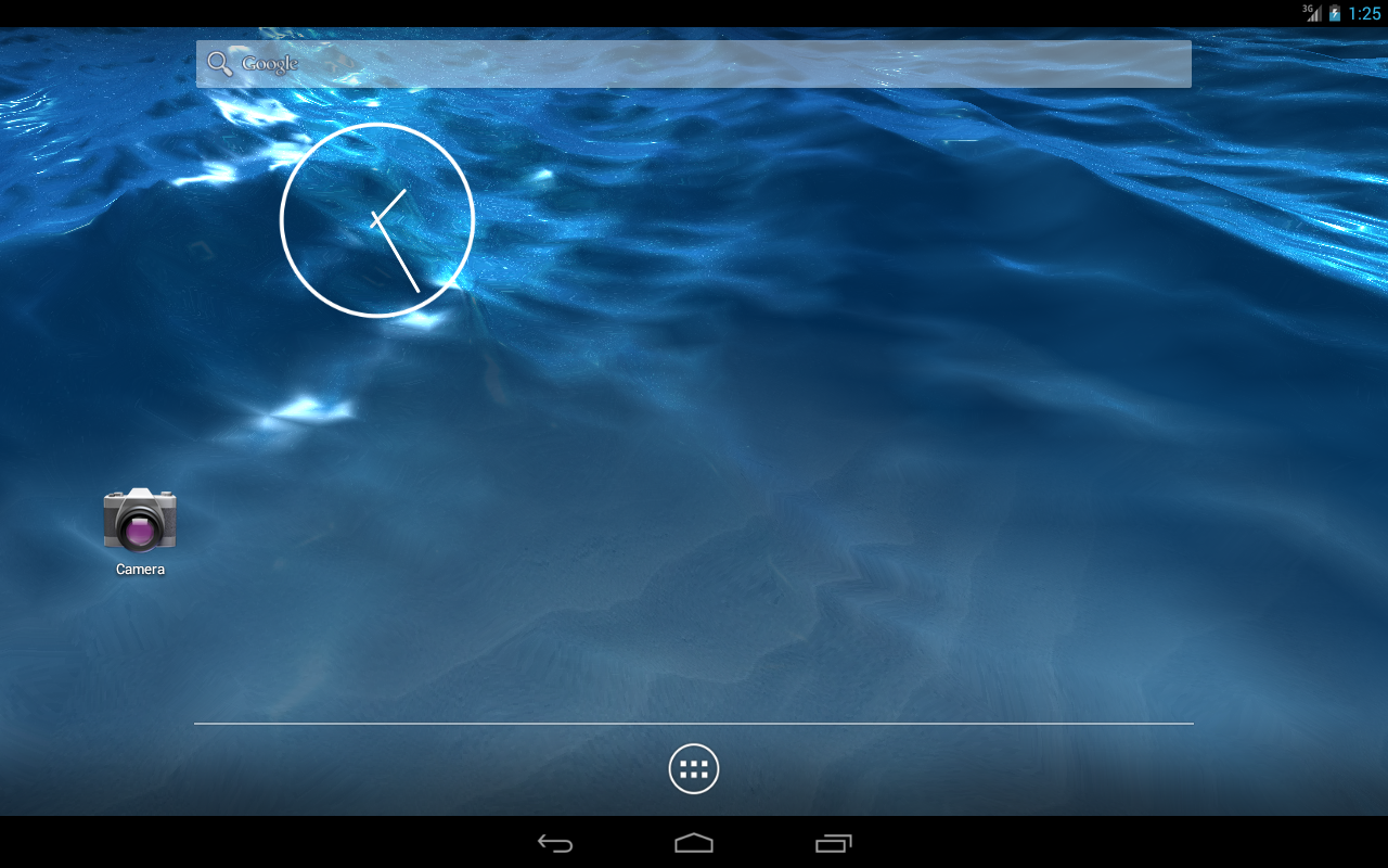 LiquidLight Sea Live Wallpaper- screenshot