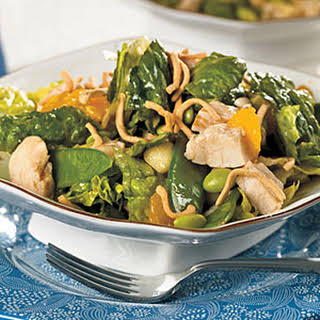 Chicken and Edamame Asian Salad.