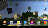 Blockcraft Live Wallpaper free- screenshot thumbnail