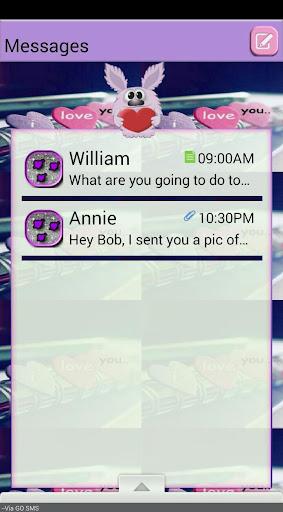 BeMine GO SMS THEME