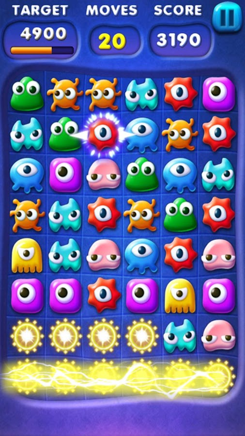 Monsters Blast- screenshot