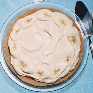 Peanut Butter Banana Cream Pie
