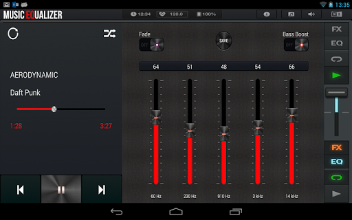 Music Equalizer Bass Booster