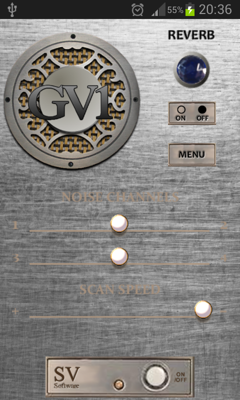 GV-1 GhostVox V2 Ghost Box EVP- screenshot