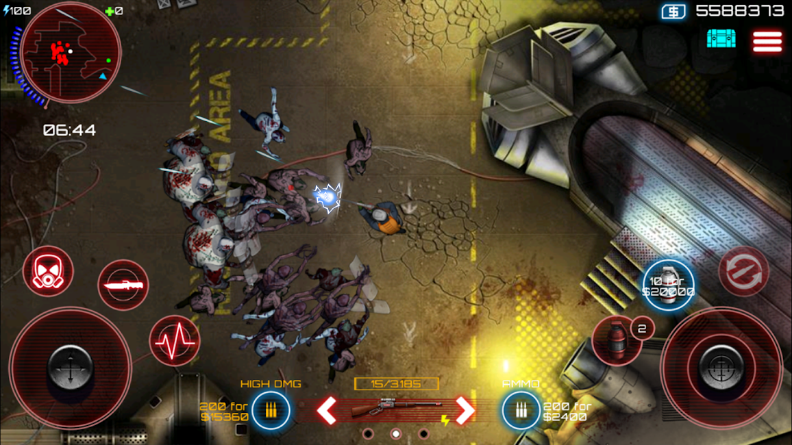 #11. SAS: Zombie Assault 4 (Android)