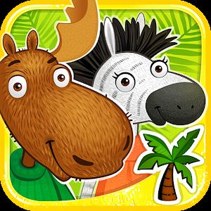 Moose & Zebra. Africa