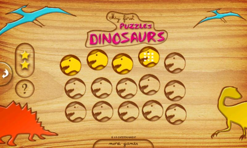 First Kids Puzzles: Dinosaurs- screenshot