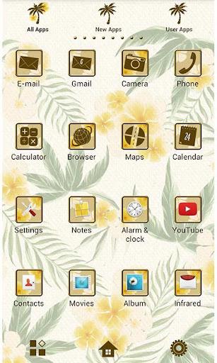 Flower Wallpaper Balmy Palms 1.2 Windows u7528 4