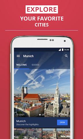 Screenshot 1 München Reiseführer