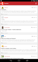 Screenshot of Diabetes Forum