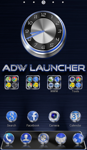 Techno HD APEX NOVA ADW Theme