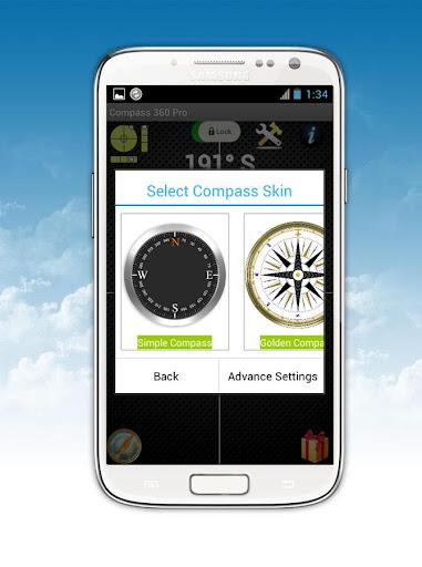 Compass 360 Pro Free screenshot