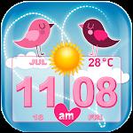 Love Weather and Clock Widget