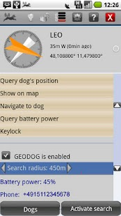 GEODOG™ Mobile Lite - screenshot thumbnail
