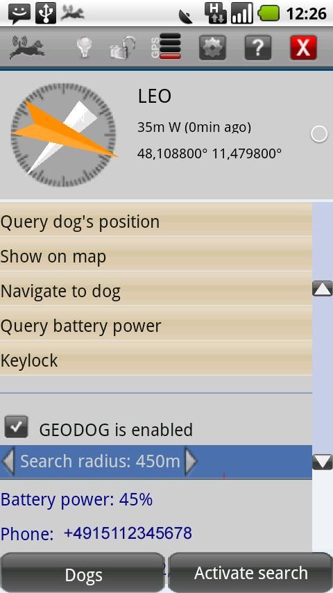 GEODOG™ Mobile Lite - screenshot