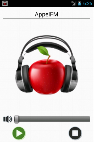 AppelFM - screenshot