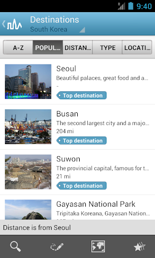 South Korea Guide by Triposo