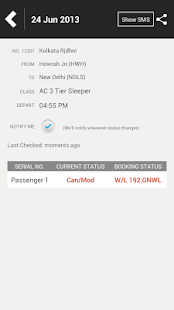 PNR Status Rail Flight Tracker - screenshot thumbnail