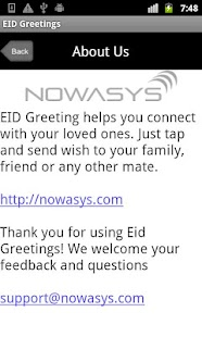 Eid Greetings- screenshot thumbnail