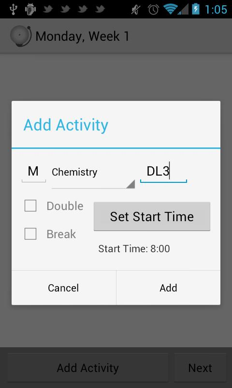 Timetable - School Scheduler - screenshot