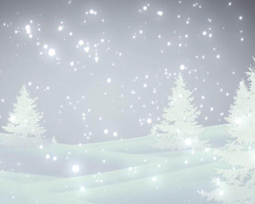 幻想雪動態壁紙