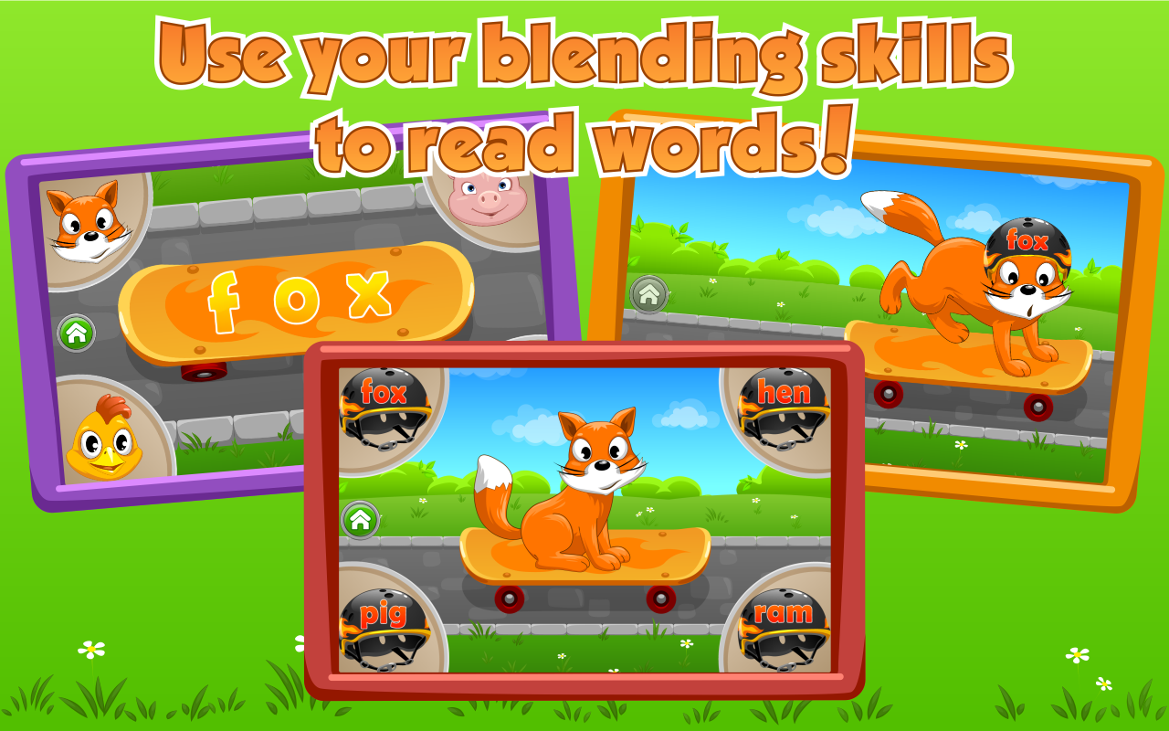 Kids Learn to Read (Lite) - screenshot