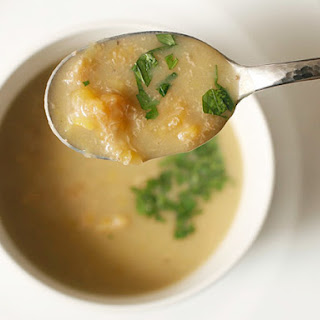 Colombian Plantain Soup (Sopa de Platano)