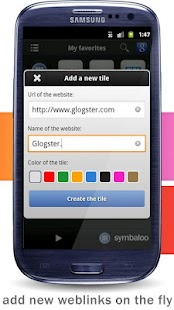 Symbaloo- screenshot thumbnail