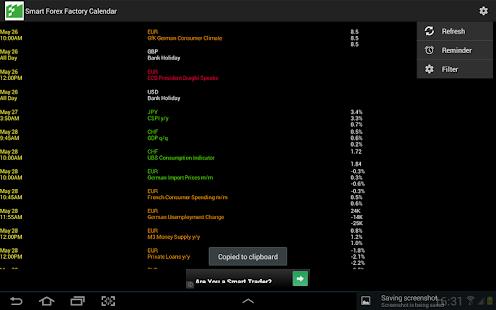 Forex factory app
