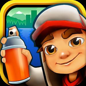 ايقونة لعبة صب واي للاندرويد اخر اصدار لعبة الولد الشقي Subway Surfers v1.23.0.apk