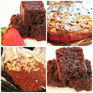 Crock Pot Fudge Brownies