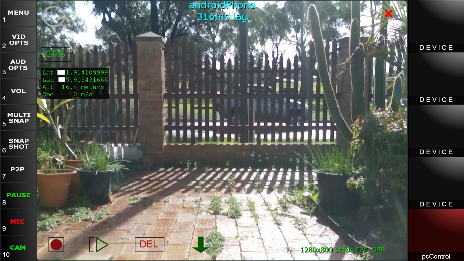 ReelCam Video Security Monitor- screenshot