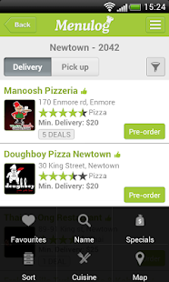 Menulog Order Food Delivery - screenshot thumbnail